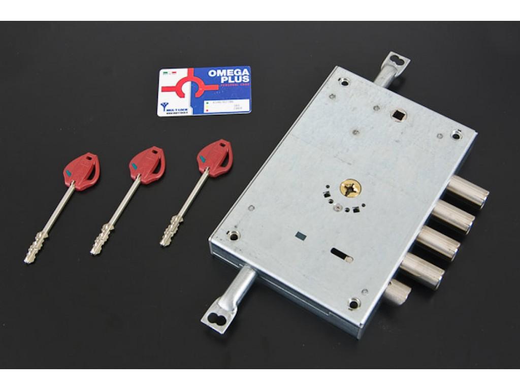Κλειδαριά OMEGA PLUS για θωρακισμένη πόρτα  Κλειδαριές πορτών ασφαλείας