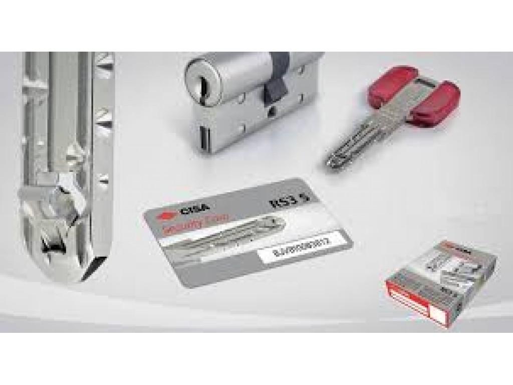 Κύλινδρος ασφαλείας CISA RS3s για θωρακισμένη πόρτα Καλλιθέα Κύλινδροι ασφαλείας