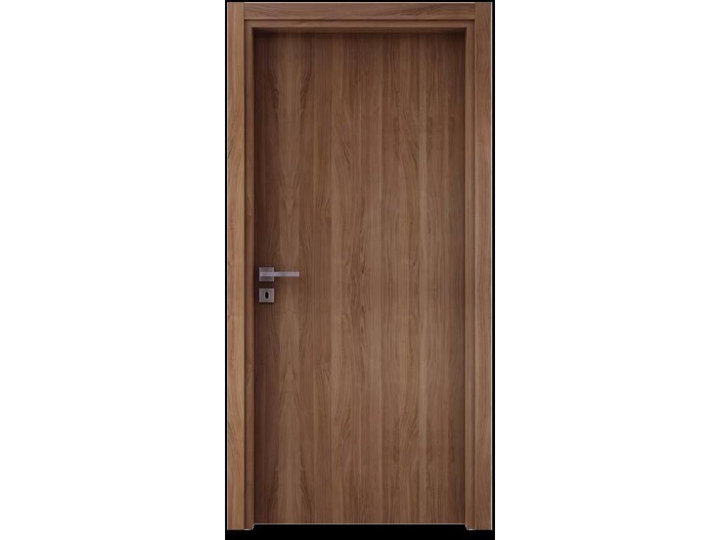Laminate εσωτερική πόρτα επίπεδη σε χρώμα N33 Laminate