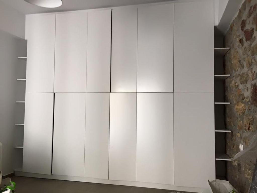 Ειδική κατασκευή ντουλάπας Μοσχάτο λάκα λευκή Ιδέες για ντουλάπες